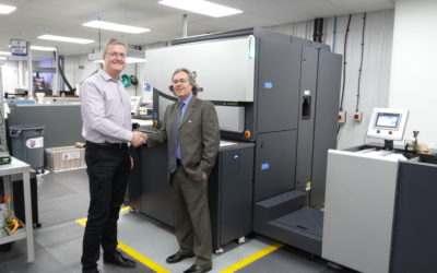 Baker's attracts lots of press attention for installation of 2 more HP Indigo 6800s
