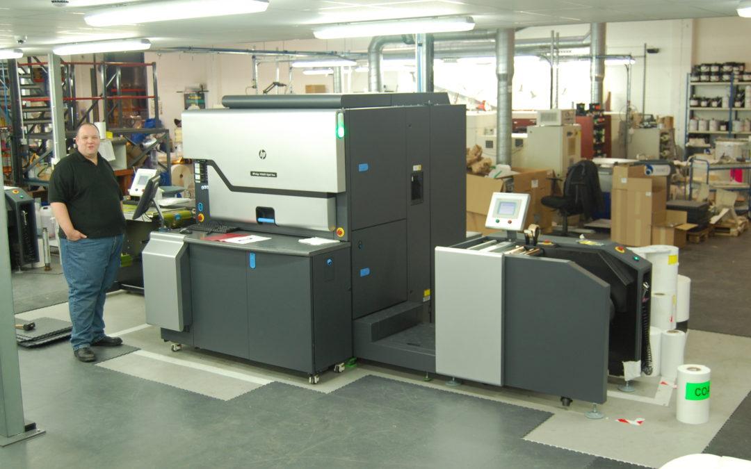 Baker Labels' new HP Indigo WS6600